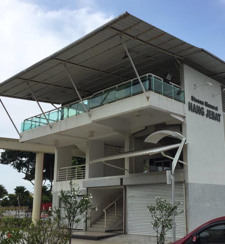 Monorail Station Hang Jebat, Melaka