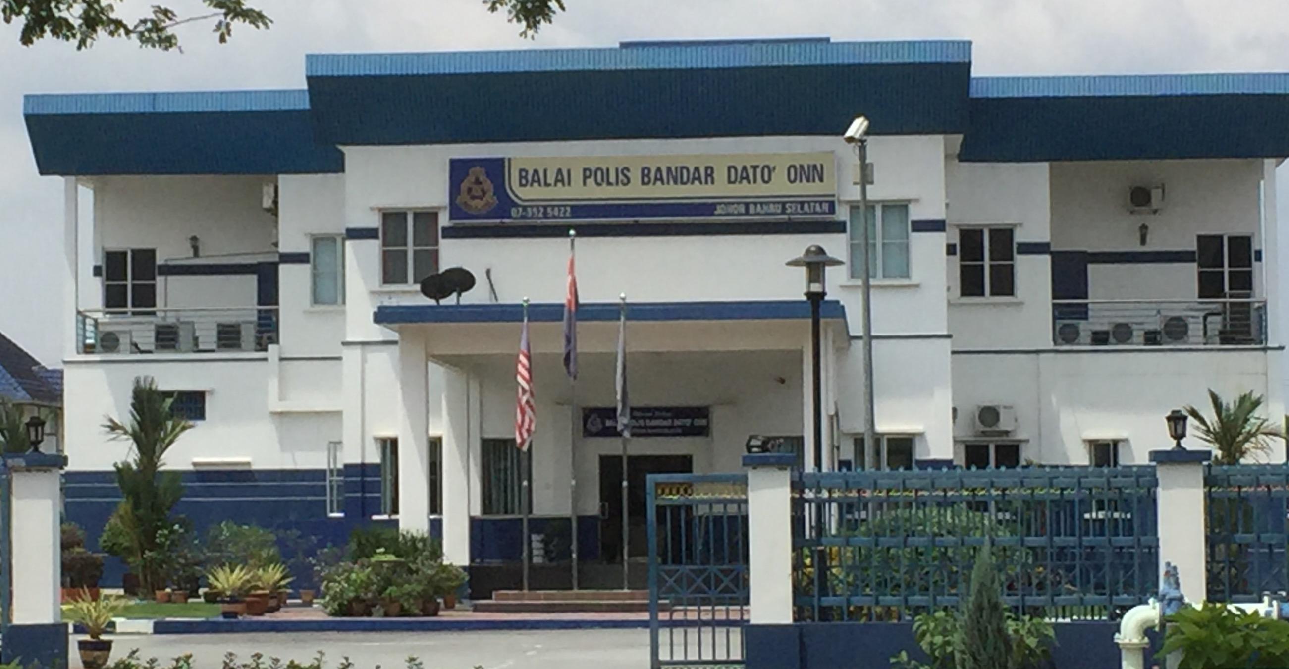 Police Station Bandar Dato Onn, Johor